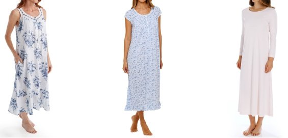 womens cotton nightgowns
