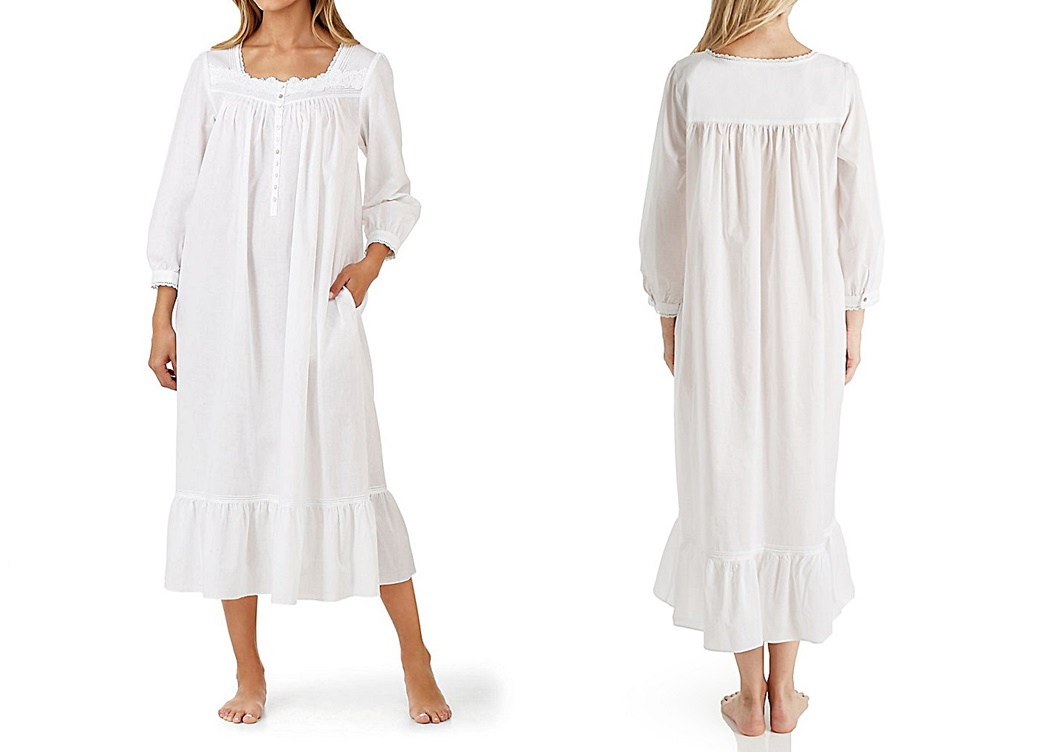 long sleeve nightgown