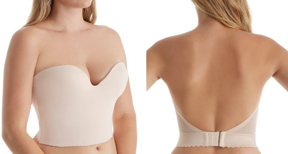strapless backless bras