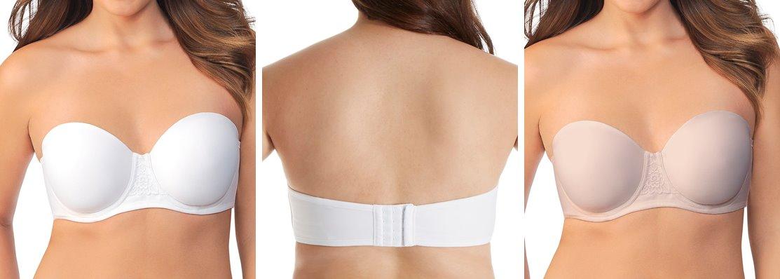 strapless bras