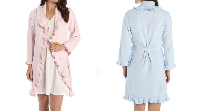 chenille robes