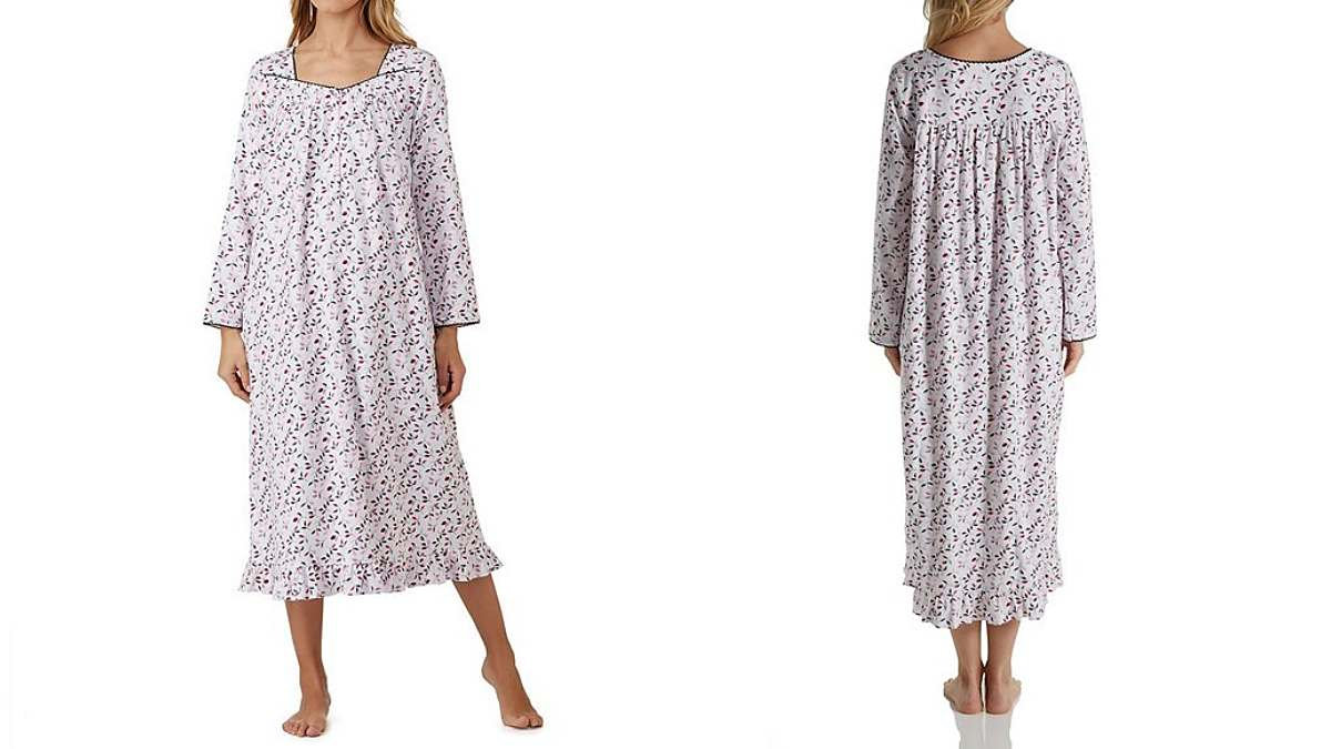 womens flannel nightgowns