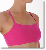 front closure sports bra