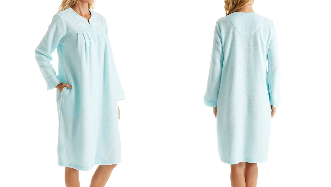 brushed back satin nightgowns
