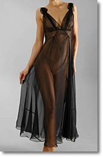 sheer nightgown