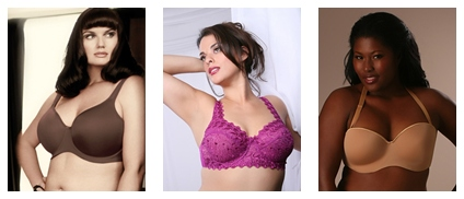 full figure bras, bra shopping, plus size bras