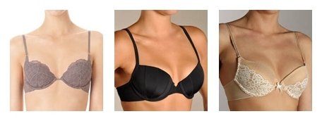 demi cup bras