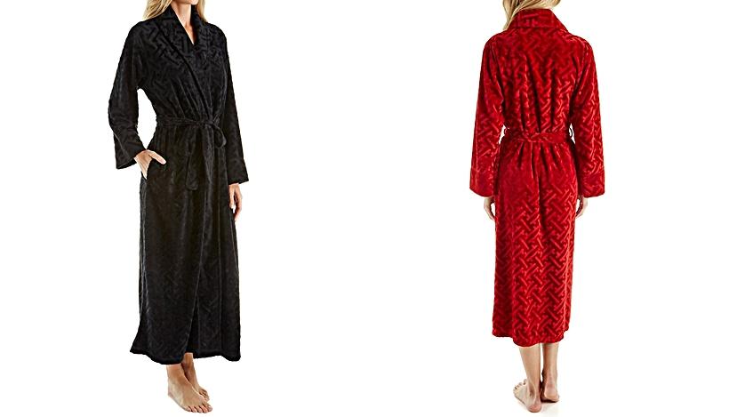 velour robe