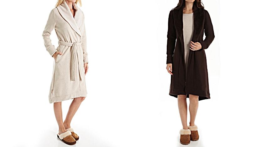 womens fleece robes