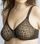 sheer bras