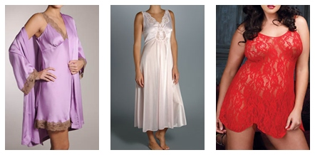 nightgowns and sleepwear