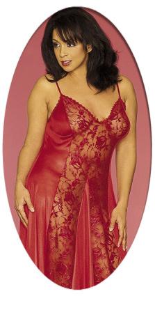 Plus Size Valentine Lingerie