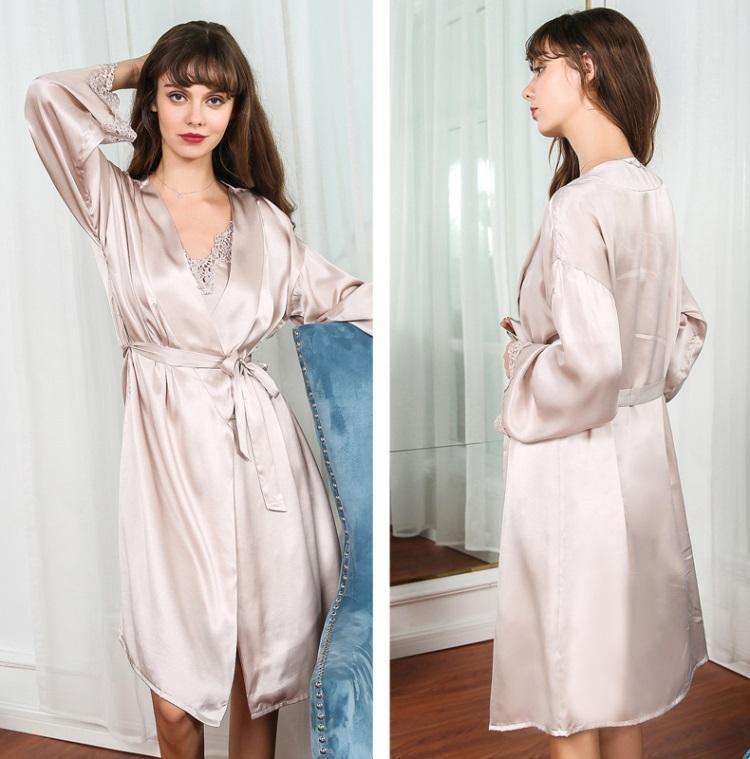 silk sleepwear