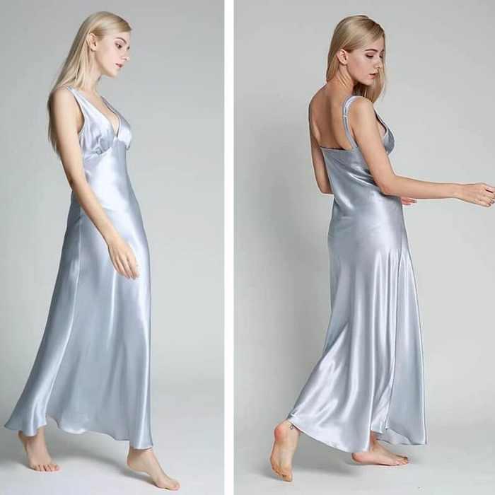 silk nightgowns