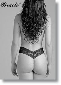 sheer bikini panty
