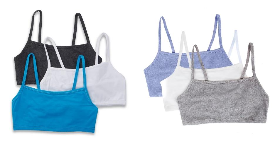 teen training bra