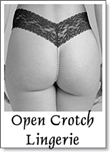 open crotch lingerie