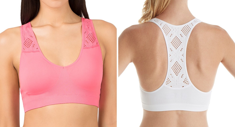 first bra