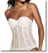 push up bustier