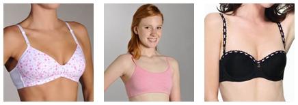 teenage bra