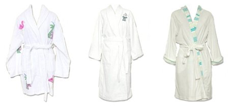terry cloth bath robes