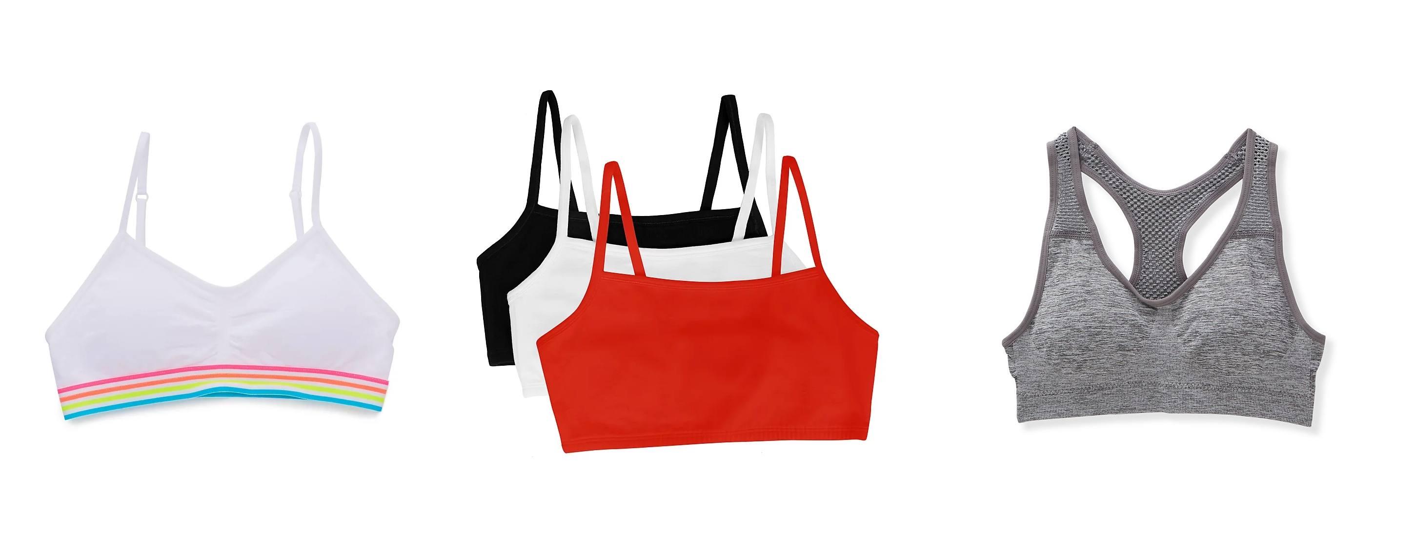 girls in training bras