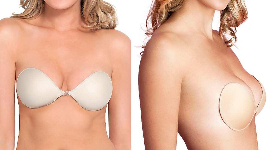 adhesive bras